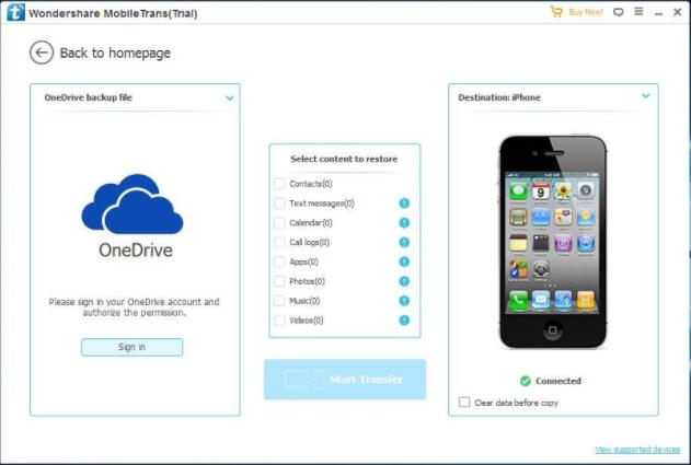 How to Transfer Data Contacts from Windows Phone to iPhone