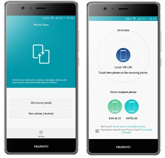 2 Ways to Transfer Data from Android Phone to Huawei nova 3i